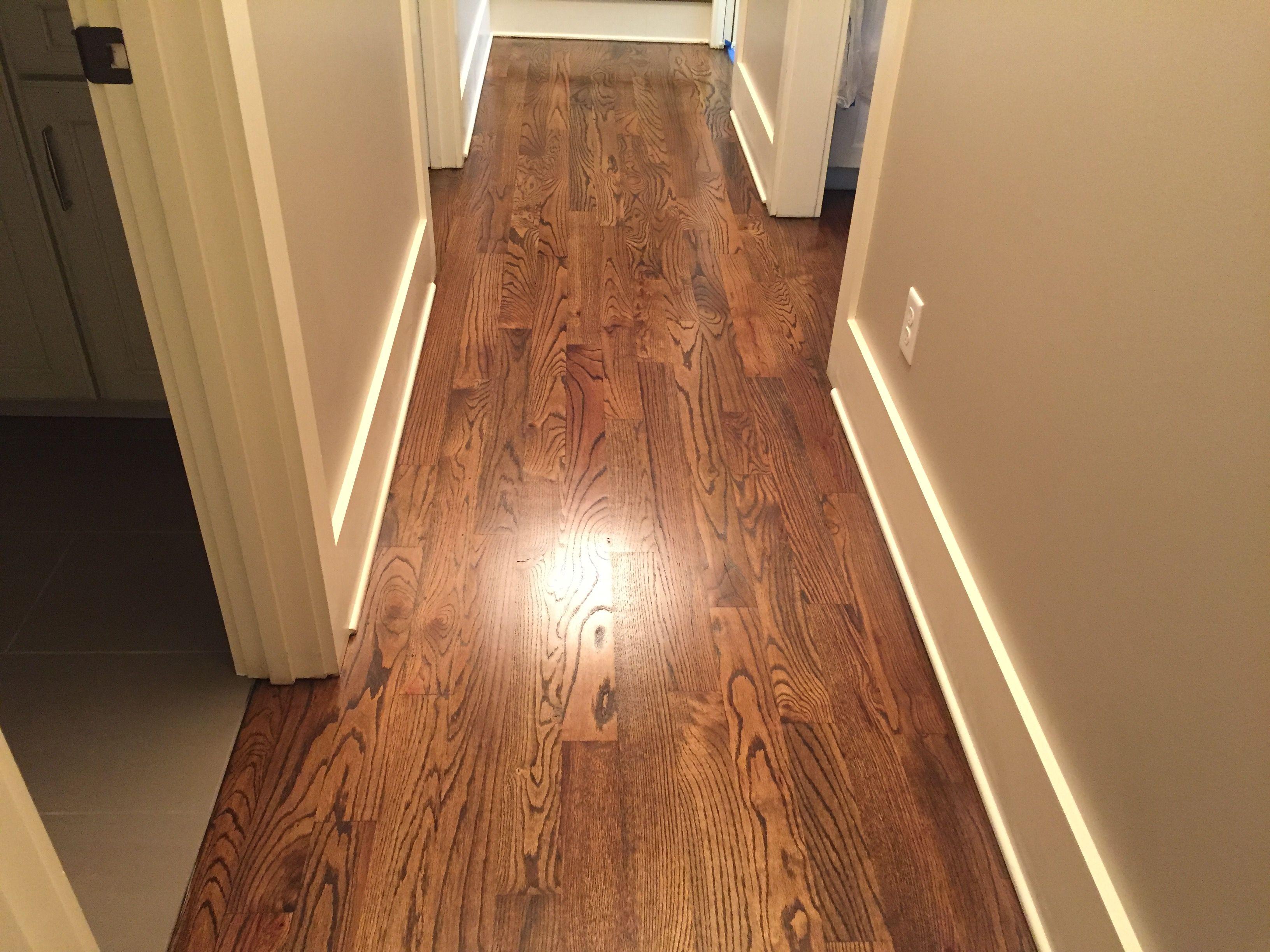 Sanding New Hardwood Floors