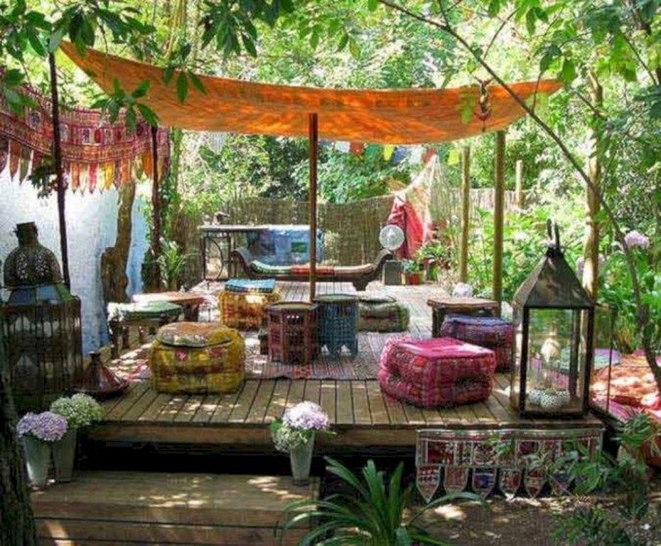 40 Charming Boho Garden Ideas For Outdoor Living Decor