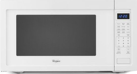 Whirlpool Wmc50522aw 2 2 Cu Ft Countertop Microwave With 1 200 Watts 10 Power Levels Sensor Cooking Incandescent Cooktop Lighting Control Lock 12 Inch Tu Countertop Microwave Microwave Cooktop