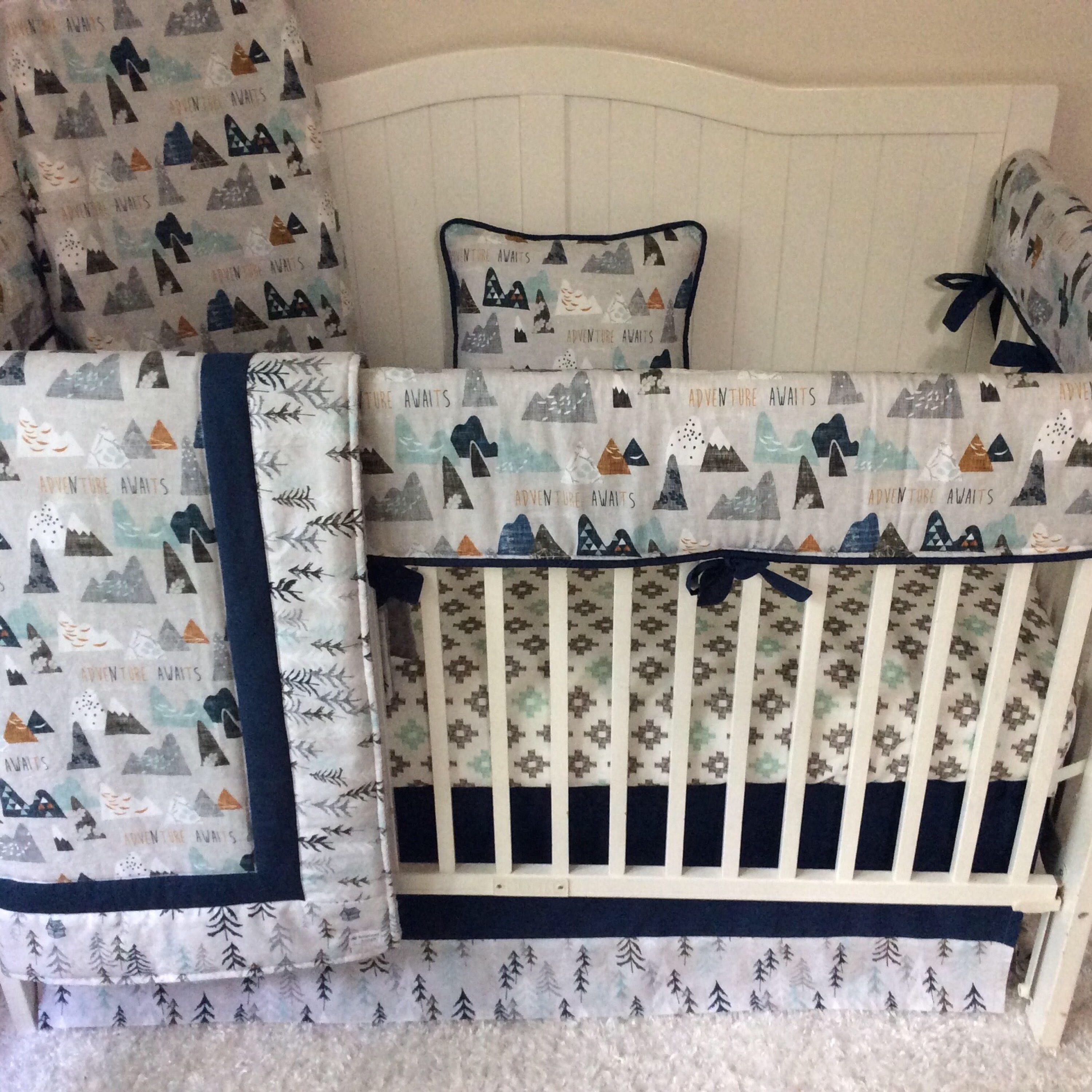 A Personal Favorite From My Etsy Shop Https Www Etsy Com Listing 545921238 Baby Boy Crib Bedding Crib Sets Baby B Baby Boy Cribs Crib Sets Deer Baby Bedding