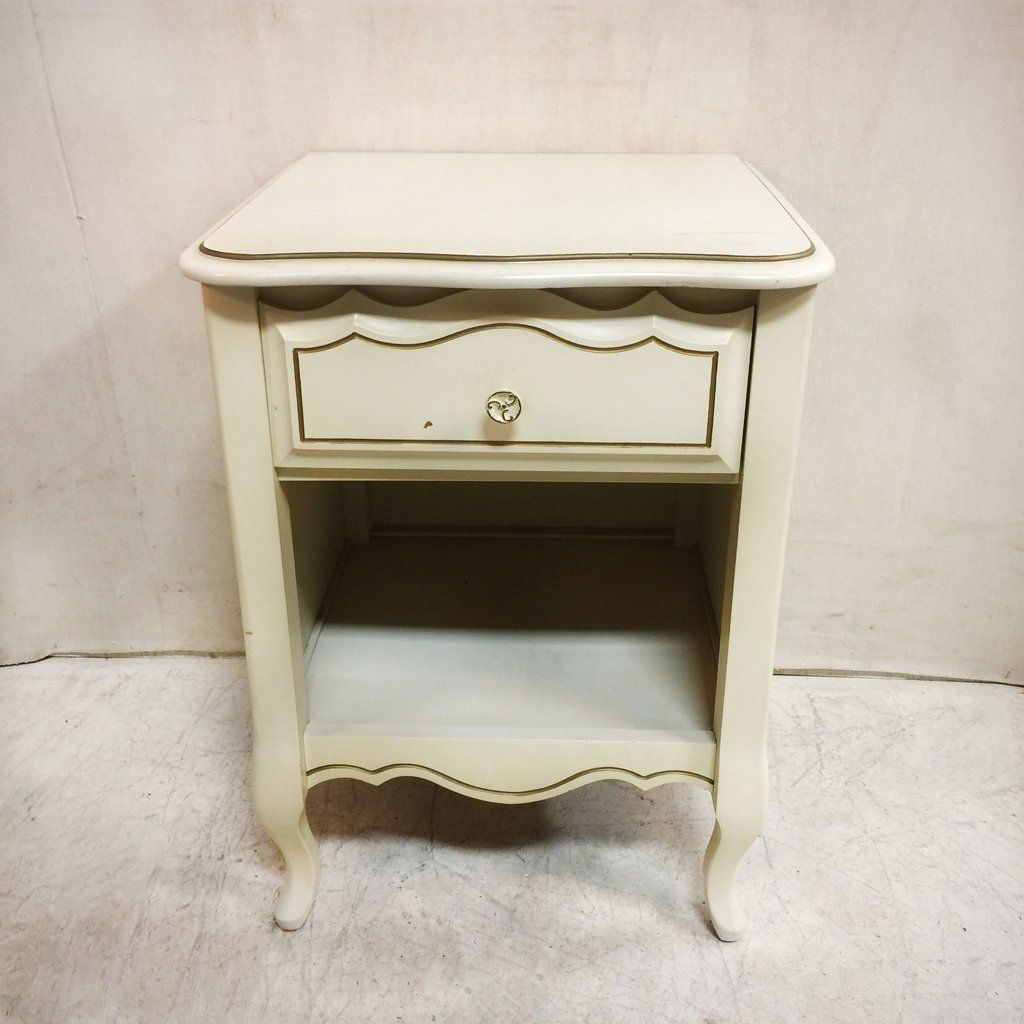 Provincial Bedside Tables Vintage Baronet French Provincial Bedside Table 75 Buy Eclectic