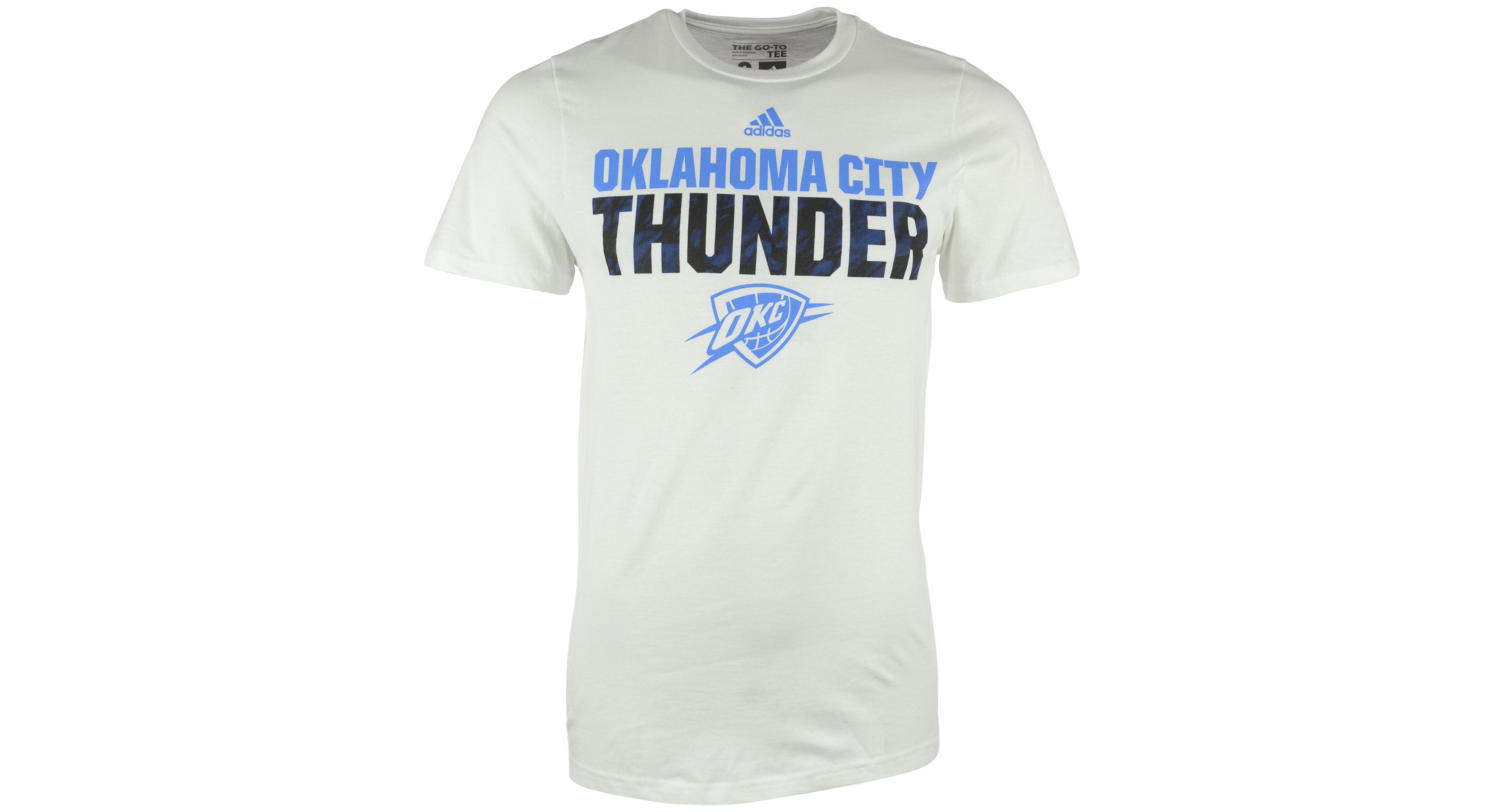 Adidas menus oklahoma city thunder immortal team tshirt products