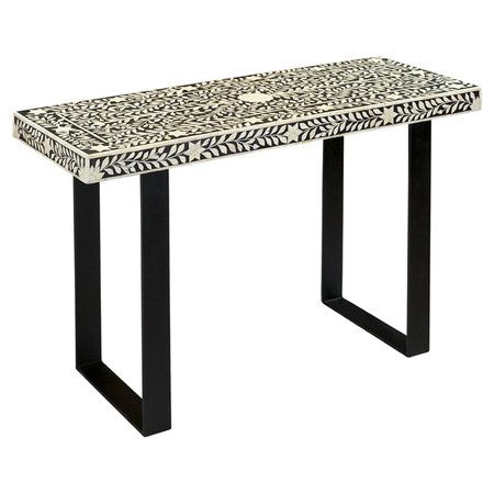Stage a pair of topiaries in the foyer or fashion a chic vanity in your powder room with this stylish console table. Center under a mirror or canvas print fo...