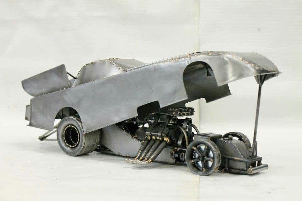 Top fuel funny car nhra drag racing metal art Metalart metal art ...