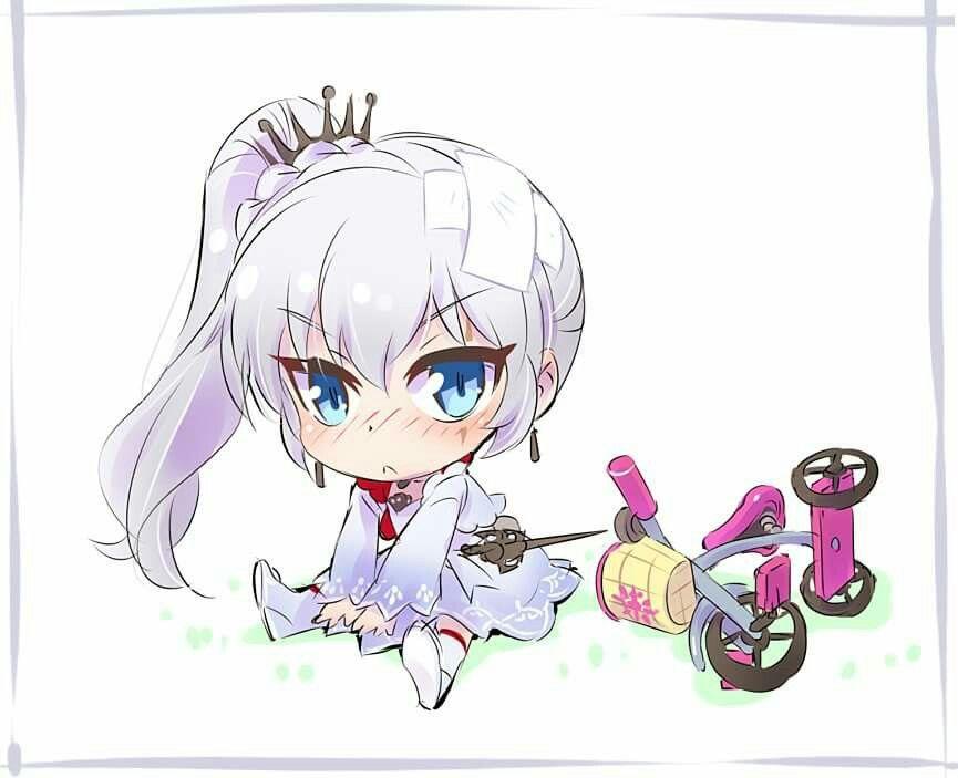 RWBY little Weiss