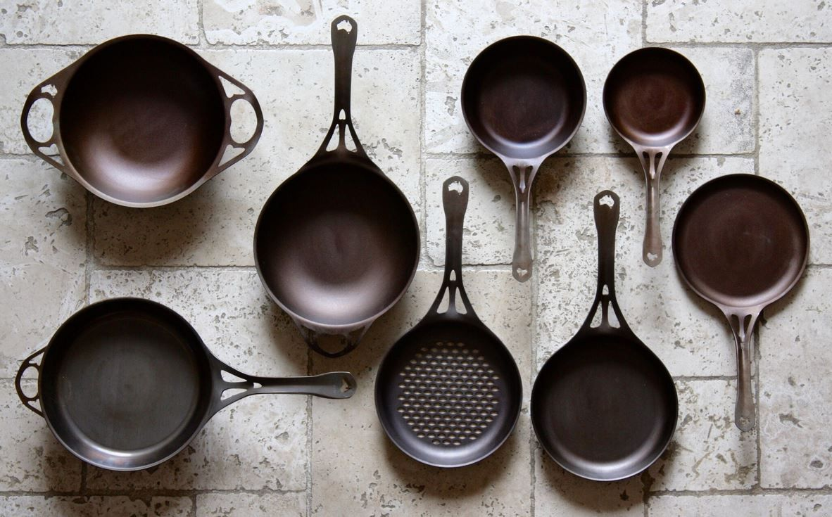 Solidteknics Pans One Piece Wrought Iron Pans To Last A Lifetime Australian Made Plastic Free Kitchen Cookware Gifts Palm Oil Free Products