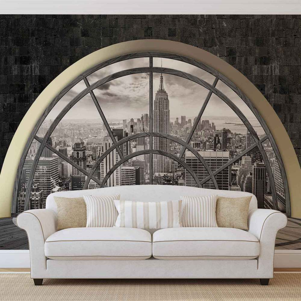 details about wall mural photo wallpaper xxl new york city. Black Bedroom Furniture Sets. Home Design Ideas