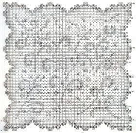crochet em revista: Naperons