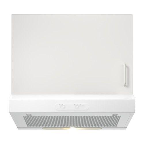 LAGAN Cappa da fissare alla parete, bianco | Ikea