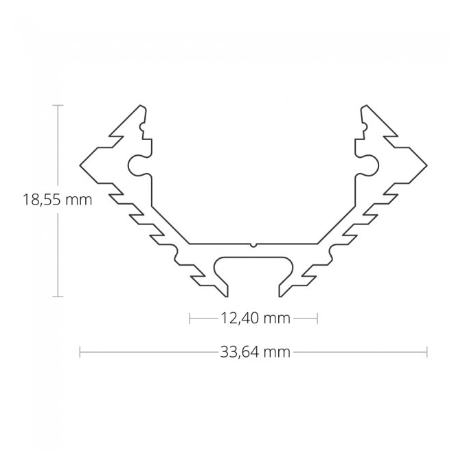 Groot Led Hoekprofiel Installing Led Strips Led Strip Led Aluminum Profile