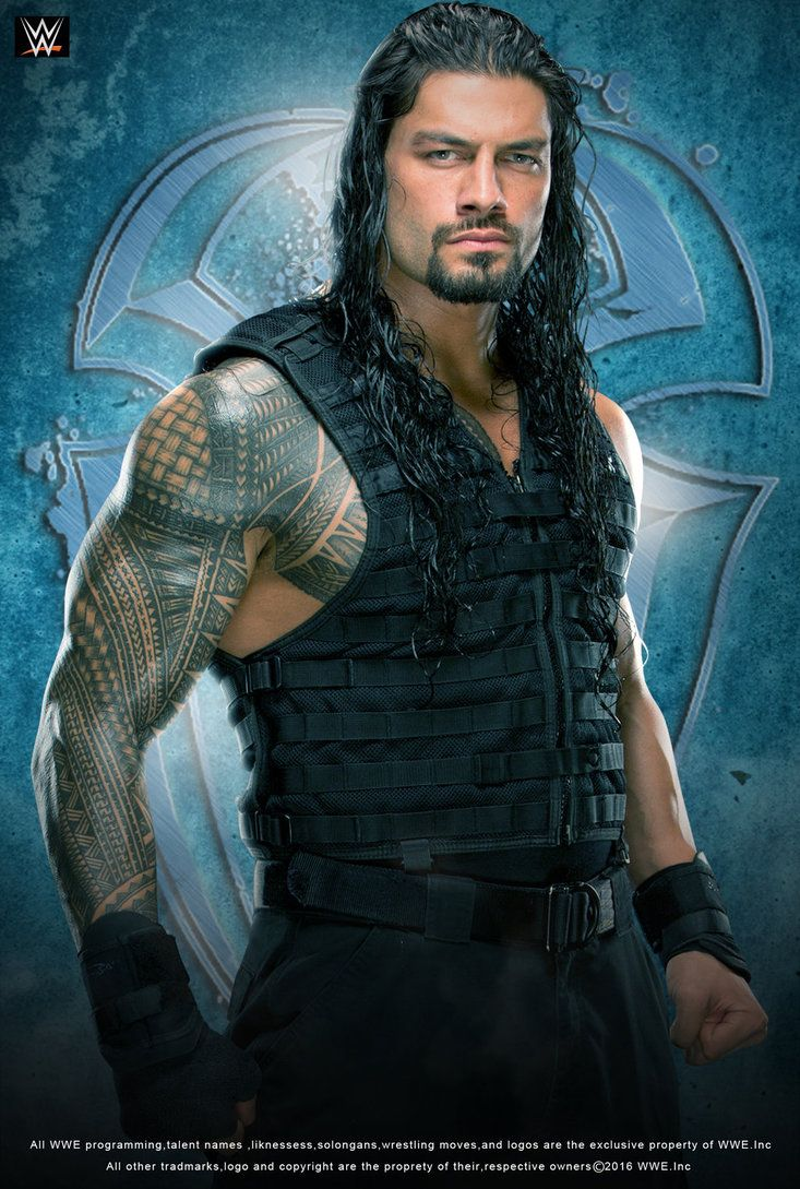 WWE Roman Reigns 2016 Poster by edaba7.deviantart.com on ...