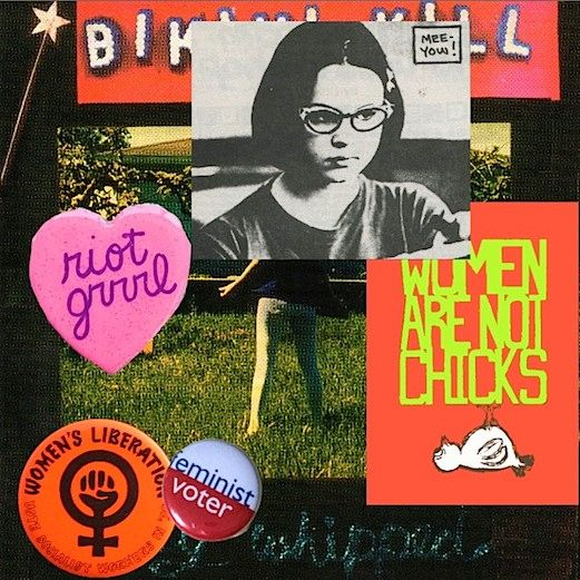 Riot grrrl. I like how this has Enid Coleslaw, Ghost World f*ck yeah!