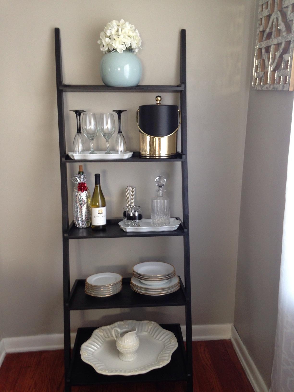 The New Bar Cart Gt The Bar Shelf Just Take An A Frame
