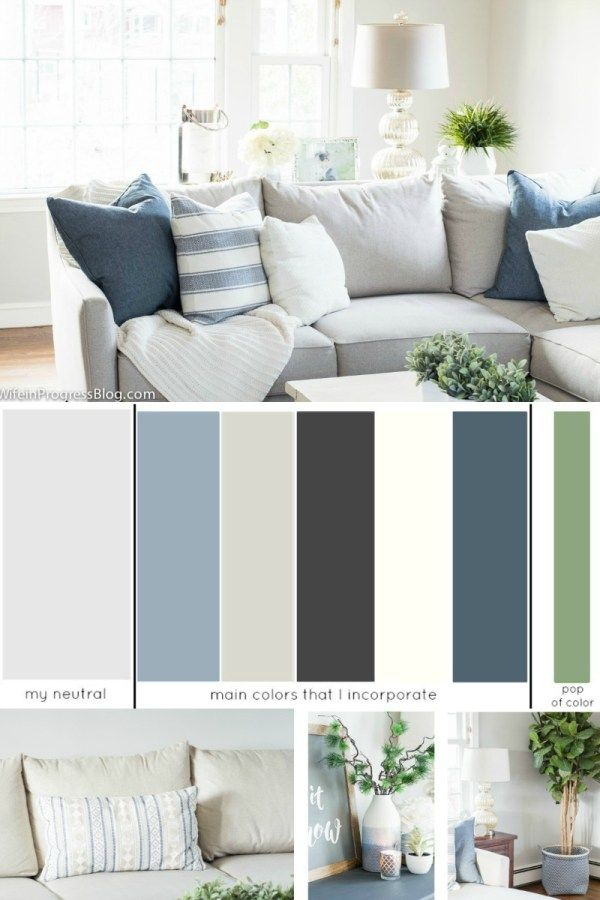 How to choose a whole house color scheme living room - How to pick a paint color for living room ...