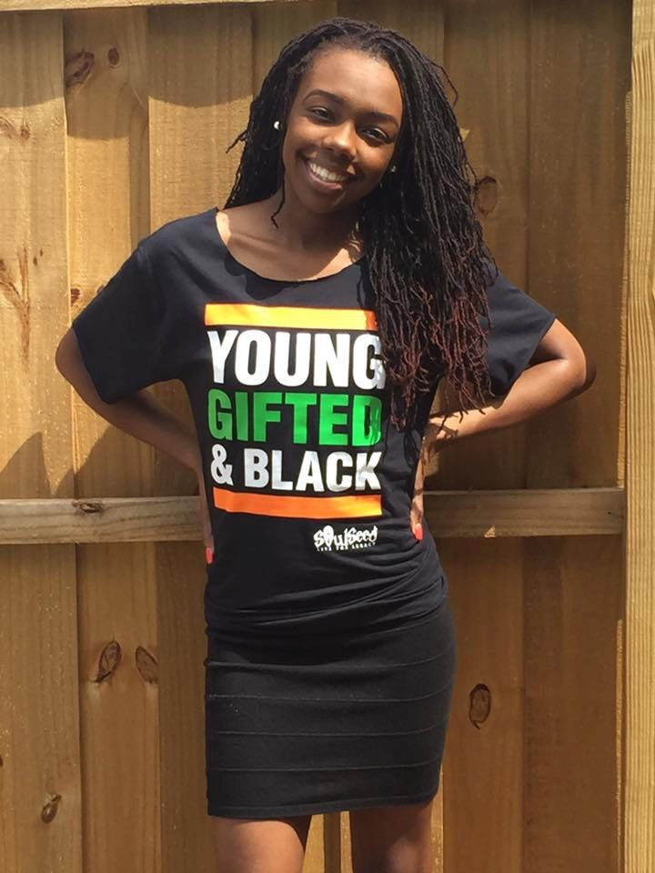 college girls black Young