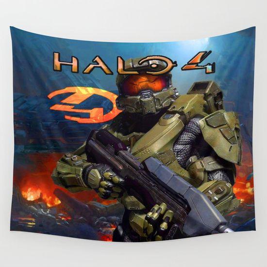 Halo 4 tapestries best design #halo4 #halo4decor #halo4bedroom #halo4walltapestries #bedroomdecoration #decorideas #bestforgift #boygift #christmasgift #birthdaygift
