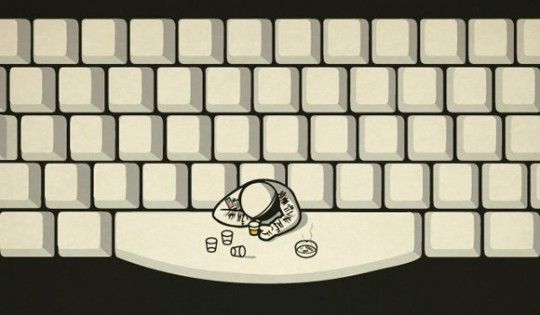 Where do astronauts hang out? Bahaha, I feel like a geek for liking this, but it's funny! LOL