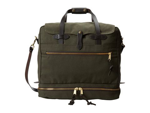 Filson Outfitter Travel Bag Otter Green - Zappos.com Free Shipping BOTH Ways 07a3231dae6d4