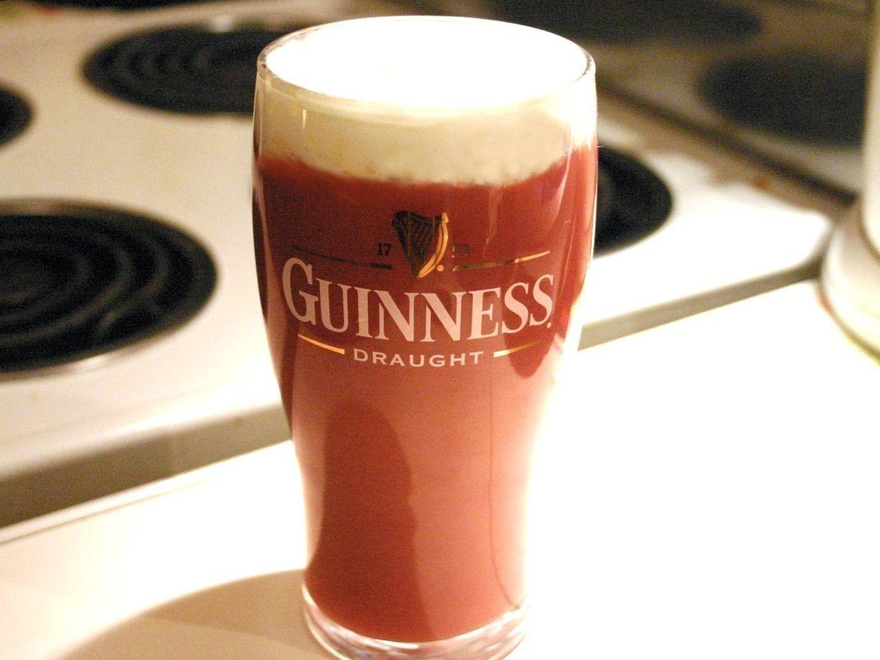 Pink Guinness Apple Cider Cocktail Cider Cocktails Guinness Recipes