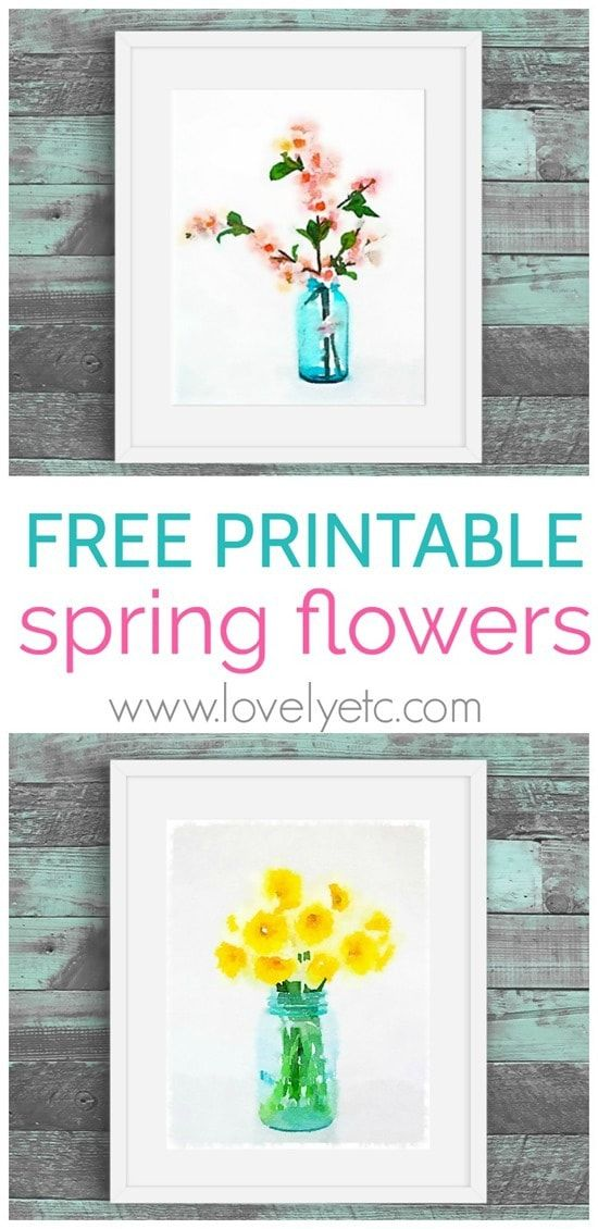 Free spring printables cherry blossoms and daffodils pinterest free spring printables cherry blossoms and daffodils pinterest free printables spring flowers and jar mightylinksfo
