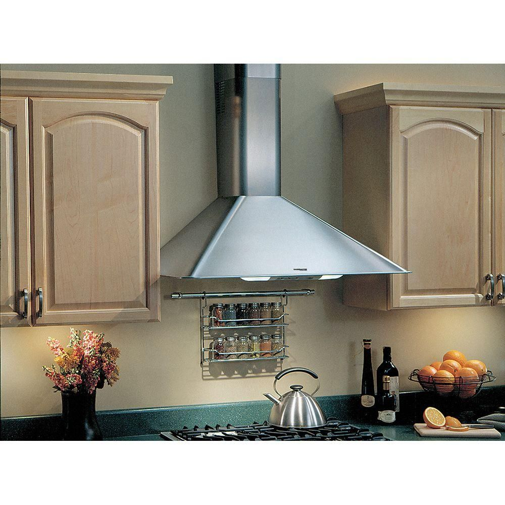 Broan Nutone Elite Rm50000 30 In Convertible Wall Mount Range Hood With Light In Stainless Steel Rm503004 The Home Depot Broan Range Hood Wall Mount Range Hood