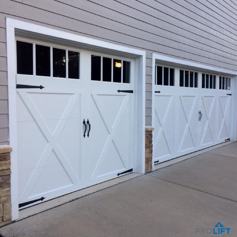 By Blending Good Looks With Practicality These Garage Doors Mimic
