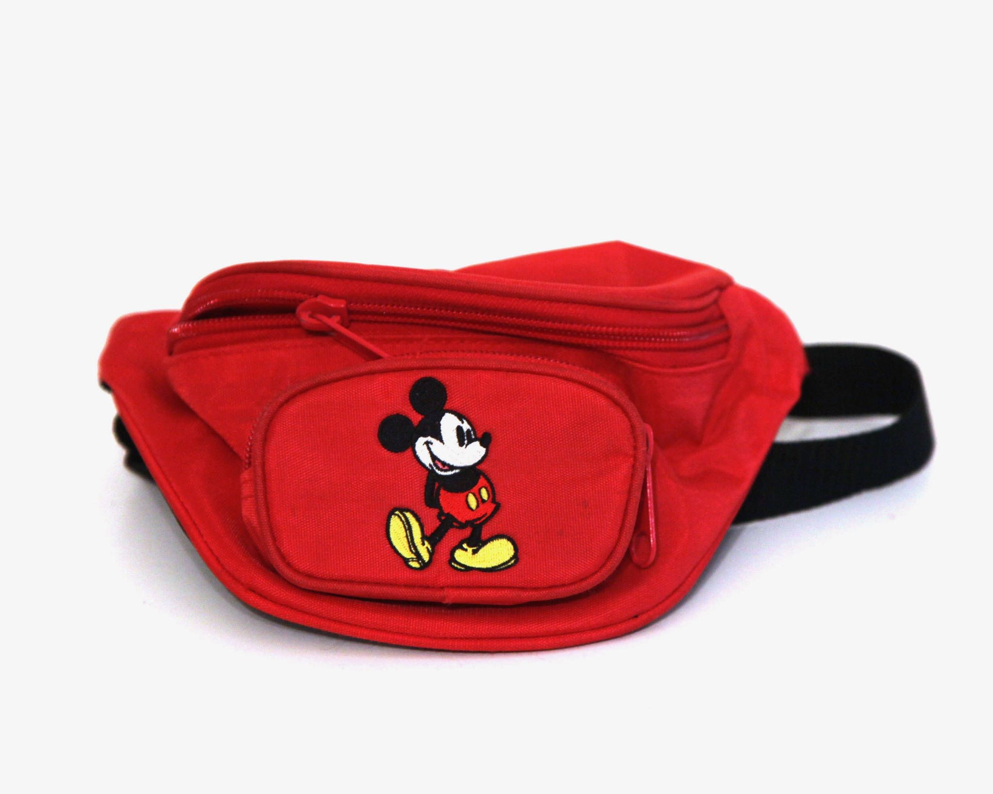 2168c06db2a Vintage 80s hip sack fanny pack Mickey Mouse Disneynylon waist pack l by  216vintageModern on Etsy