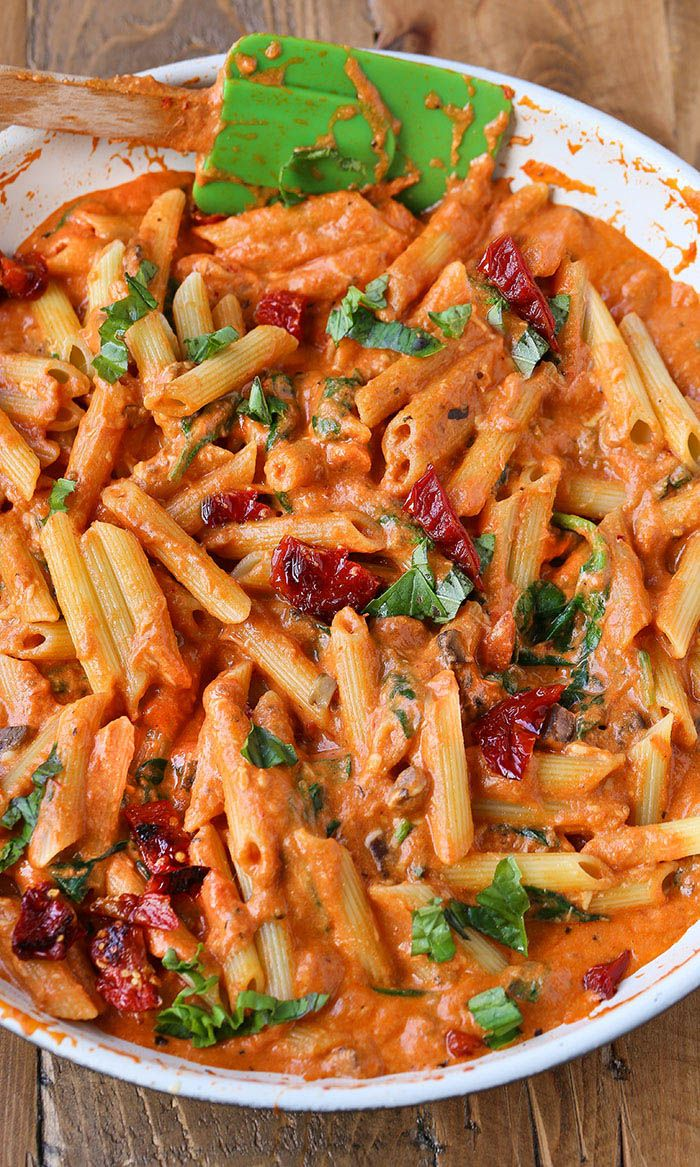 Mozzarella Penne Rosa Pasta images