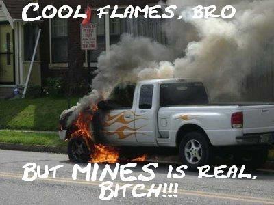 Cool flames!!