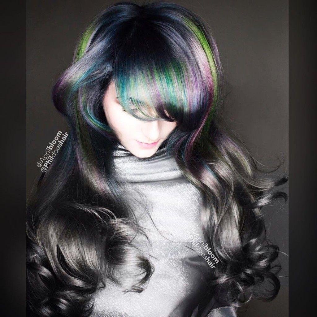 Prism lights my new hair idea look pinterest pastel hair
