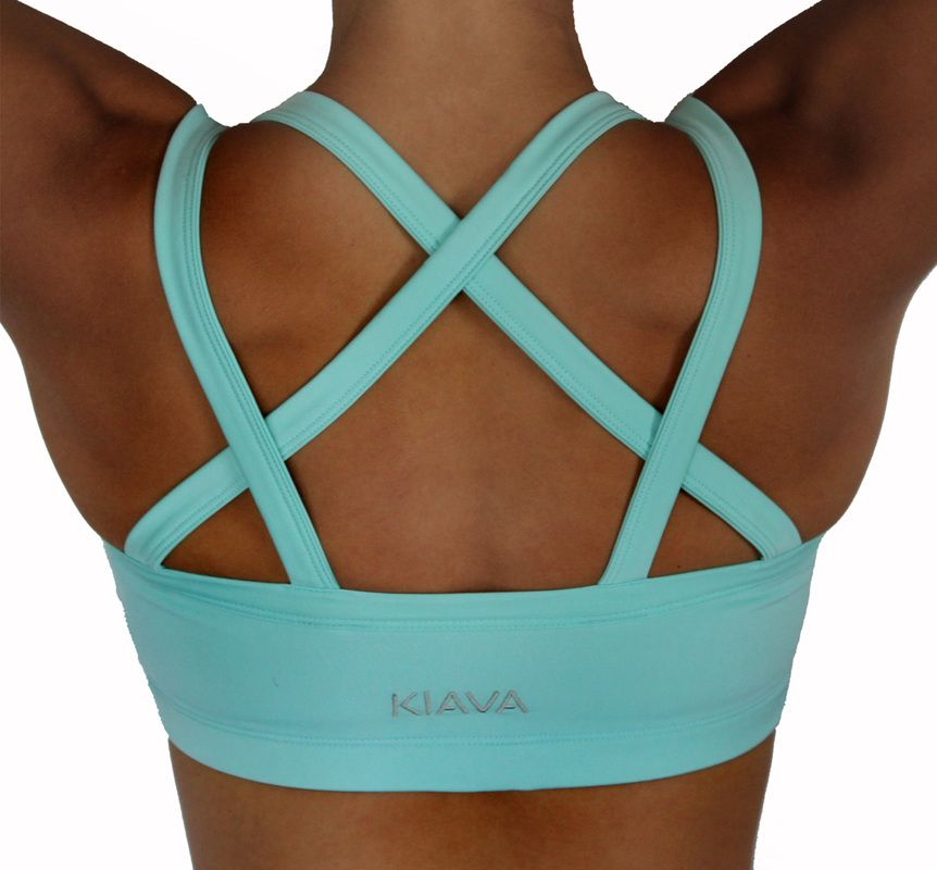 The Mint Blue Endurance Bra