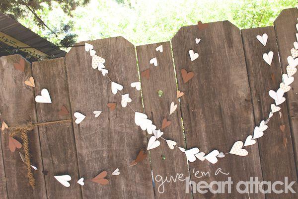 DIY - Heart garland