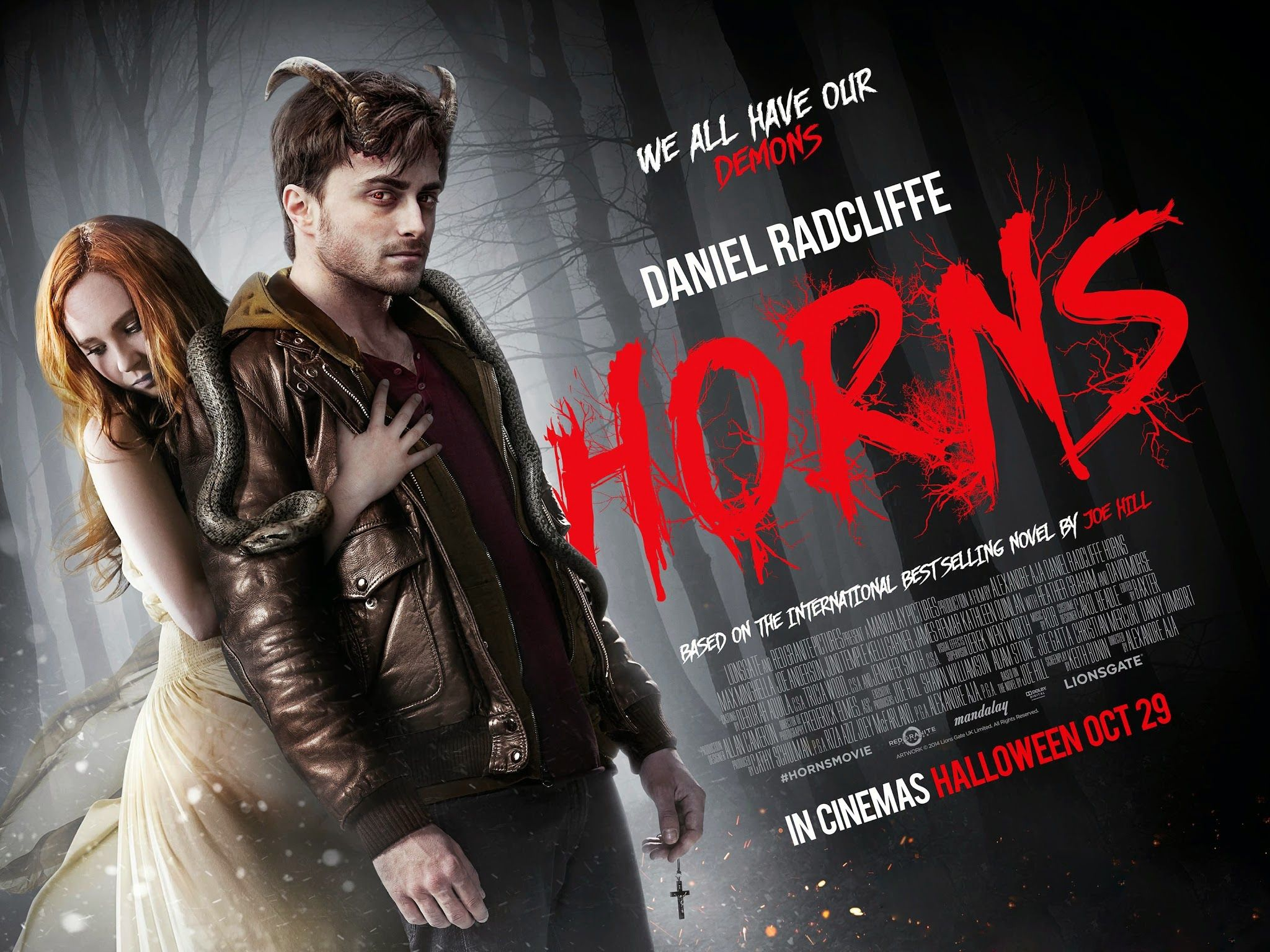 Critique Cine Avant Premiere Horns D Alexandre Aja Xav B Log Daniel Radcliffe Films Complets Film