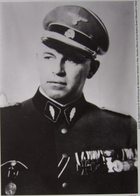 """Josef Albert Meisinger, also known as the """"Butcher of Warsaw,"""" was a German SS colonel in the Gestapo and Nazi Party member. He was arrested in Japan at the end of World War II, convicted of war crimes and was executed in Warsaw, Poland."""