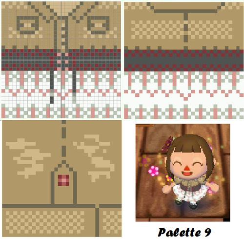 Animal Crossing Cute Clothing Pattern Animal Crossing Animal