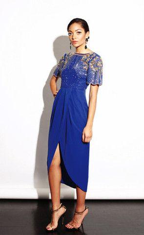 b83523b38e Nichola Royal Blue Virgos Lounge Dress - Virgo Boutique Online ...
