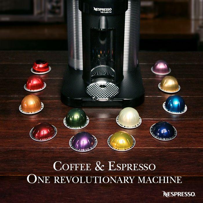 Which Vertuoline Capsule Will You Choose Coffee Or Espresso