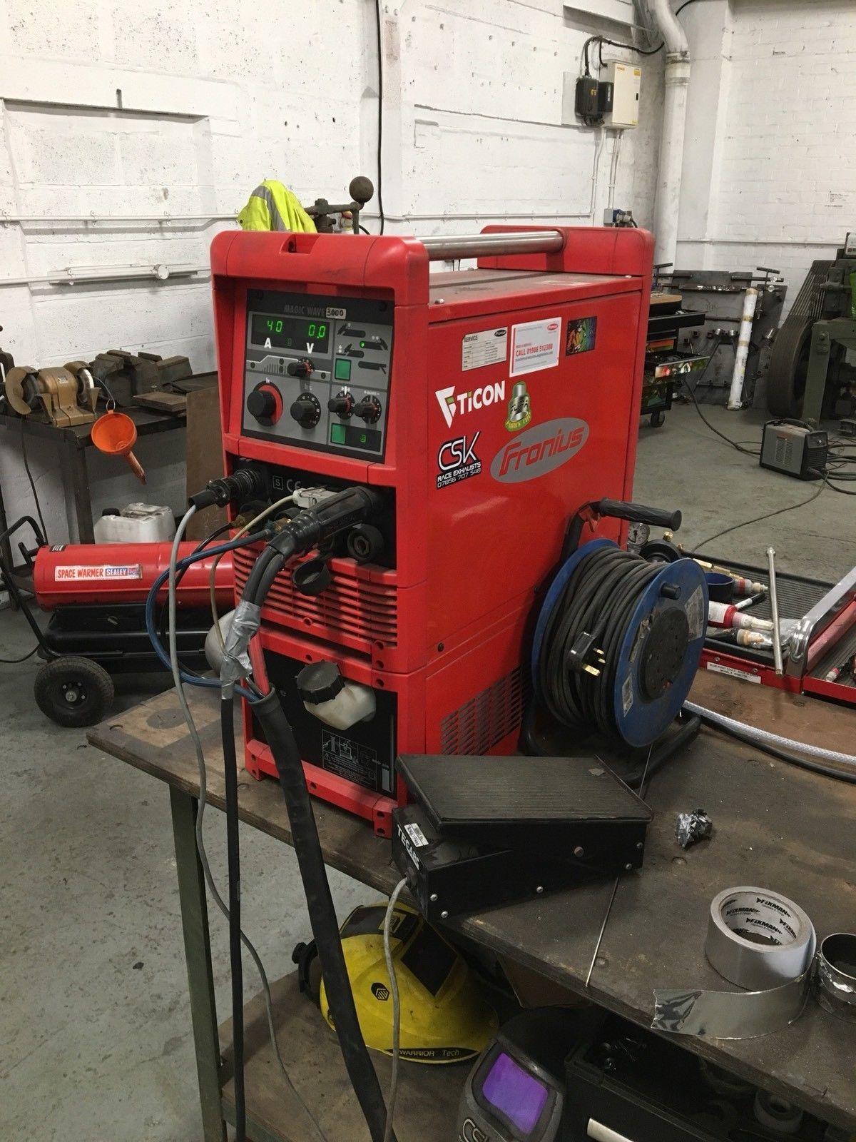 Fronius Tig Welder Ac Dc Magicwave 3000 Mig Plasma Power Lincoln Invertec 275 Parts