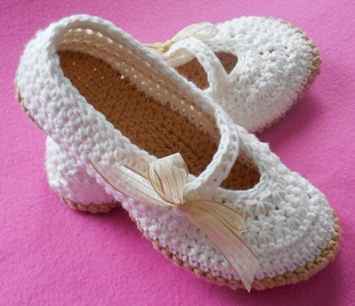 CROCHET PATTERN Mary Jane Slippers Adult Teen Star Stitch Shoes ...