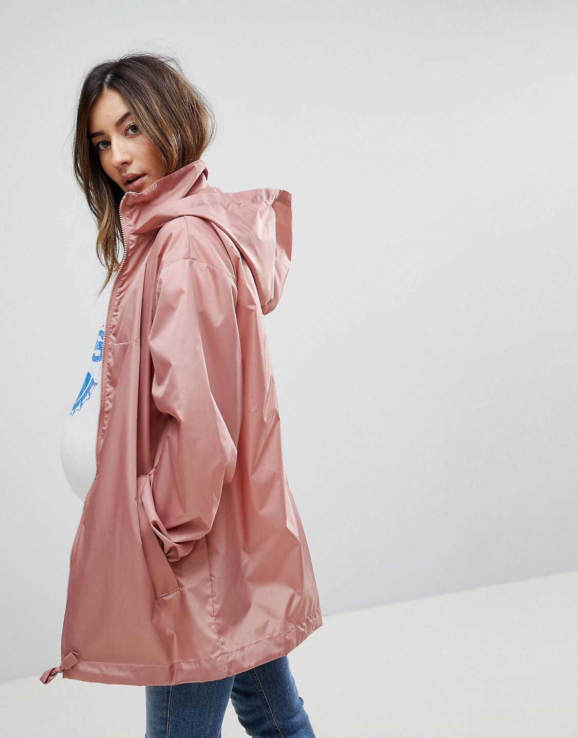 ce5b0abd615e1 Shop ASOS DESIGN Maternity rain jacket at ASOS. Discover fashion online. Maternity  Coat,
