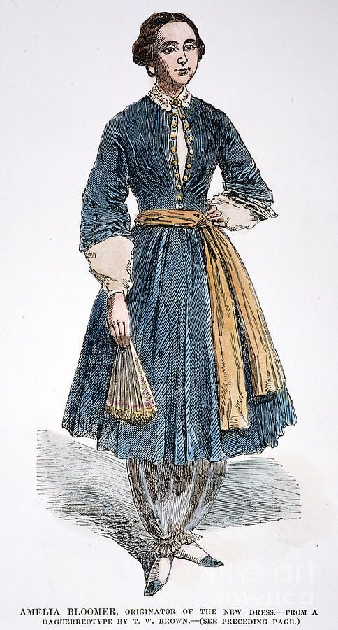Photo of Amelia Bloomer (1818-1894) di Granger