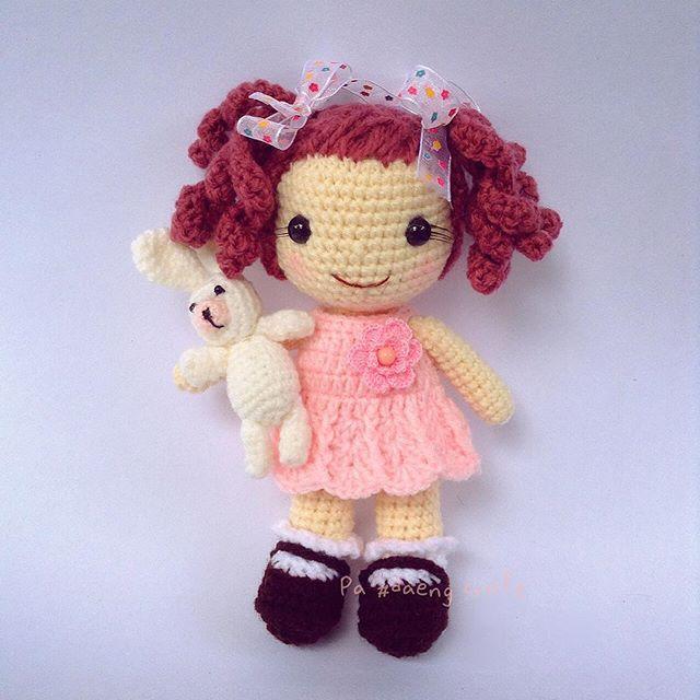 #amigurumi #amigurumigirl #cute #cutie #craft #crochet #crochetart #crochettoy #handmade #handcaft #handmadedoll #handmadetoys #kawaii #mini #myhandmade