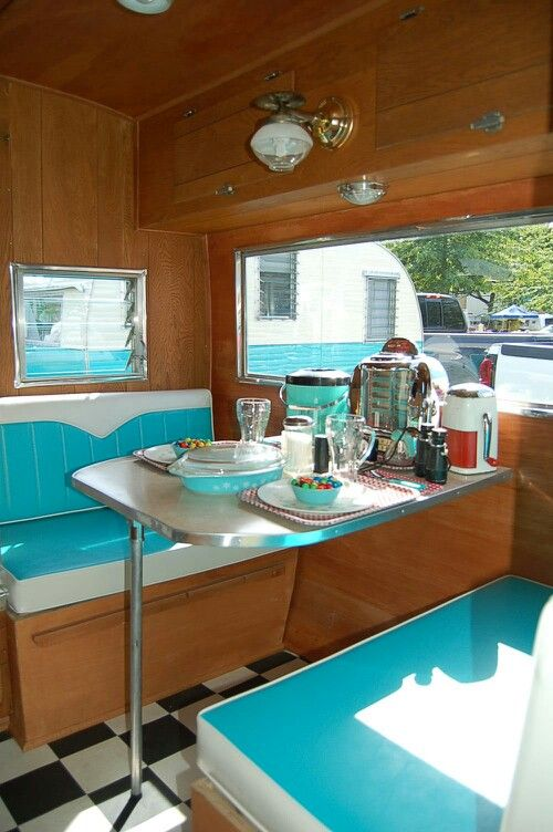 1960s Aloha Travel TrailerRe PinBrought To You By Camper TrailersInteriors