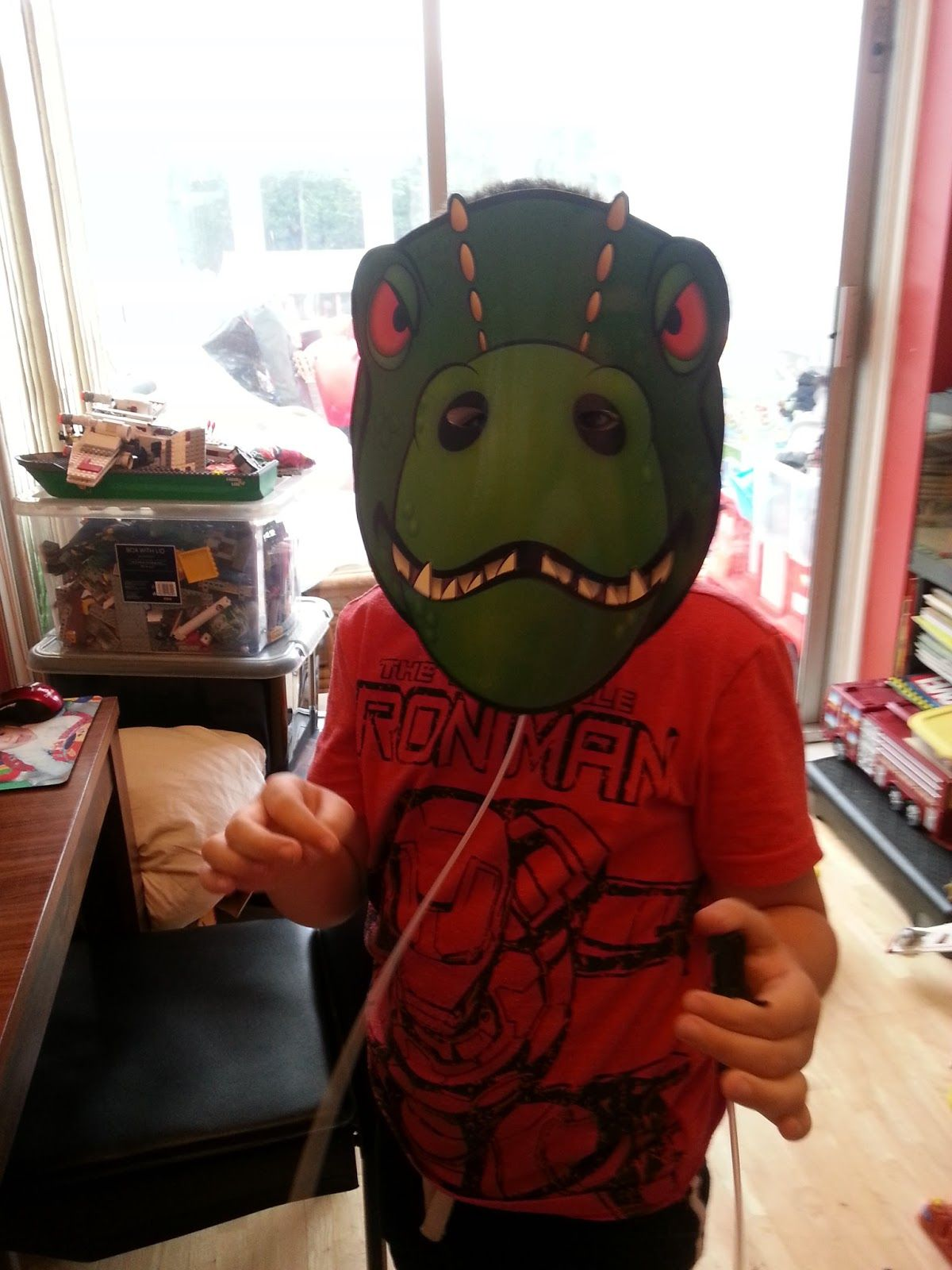 Dino Talking Head Product Review Fun 4 Kid