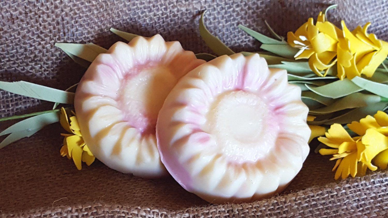 Honeysuckle buttermilk soap oatmeal soap calendula soap