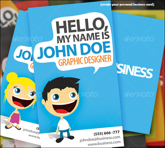 Hello there business card creation kit business cards hello there business card creation kit reheart Gallery