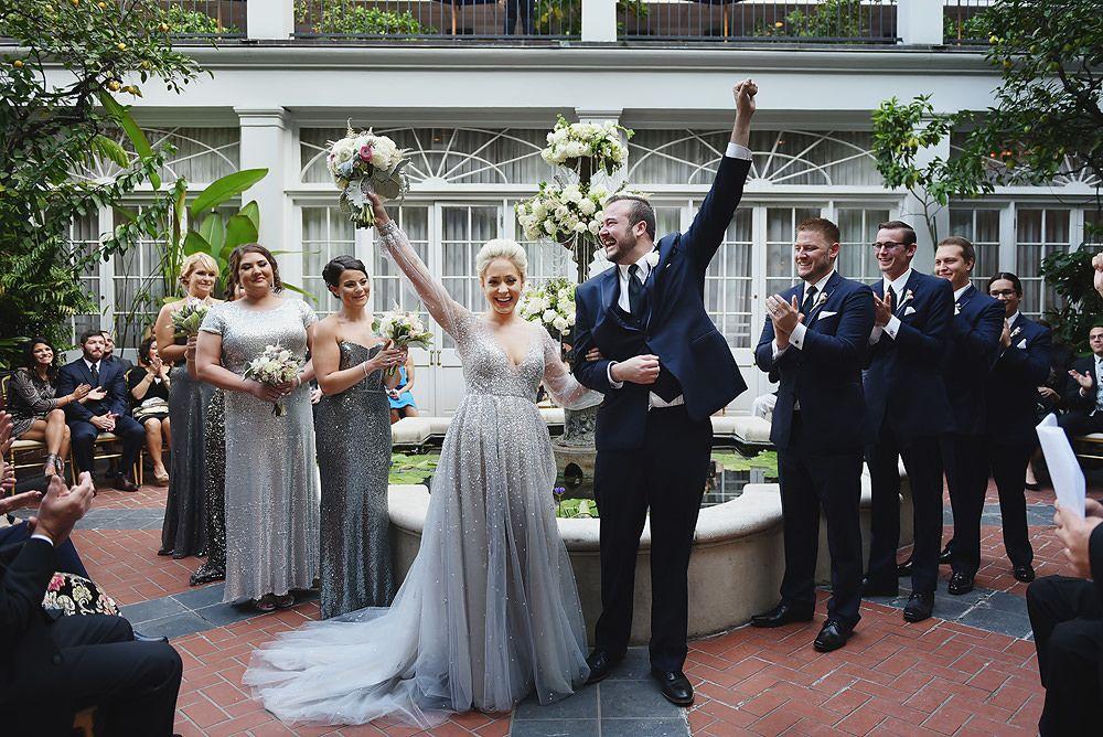 Royal Sonesta New Orleans Wedding Photographer Bryan Lindsay New Orleans Wedding Royal Sonesta Wedding Photographers