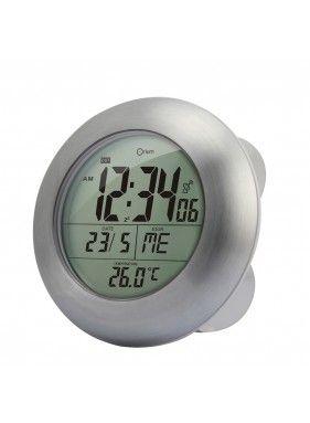 Horloge De Salle De Bain Sans Fil Etanche Et Radio Controlee