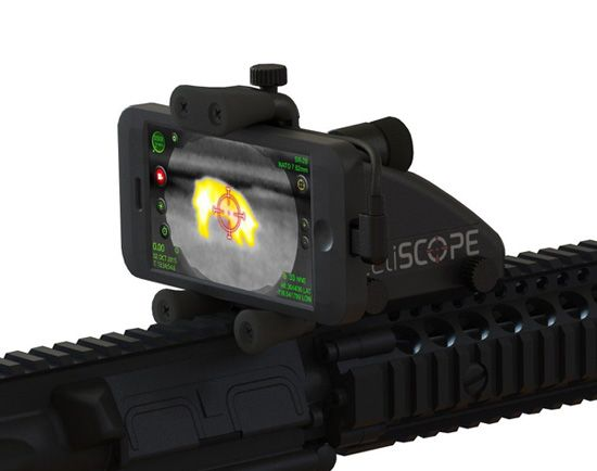 Inteliscope Thermal Scope Bundle for iPhone & Android