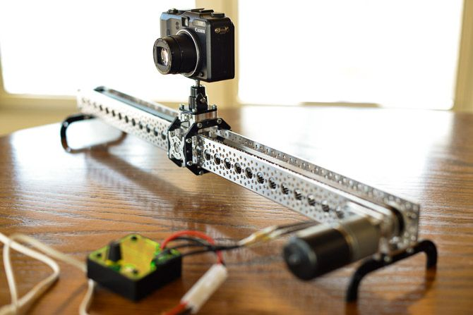 Actobotics Slider Review Diy For Cell Phone Time Lapse Video And Gopro